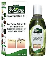 Düfte, Parfümerie und Kosmetik Pflanzenhaaröl - Indus Valley Bio Organic Growout Hair Oil