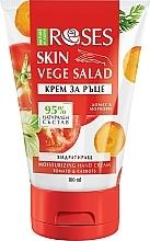 Düfte, Parfümerie und Kosmetik Feuchtigkeitsspendende Handcreme mit Tomate und Karotten - Nature of Agiva Roses Vege Salad Moisturizing Hand Cream