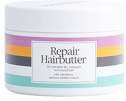 Düfte, Parfümerie und Kosmetik Regenerierende Butter für behandeltes und strapaziertes Haar mit Moltebeeren und Macadamianussöl - Waterclouds Repair Hairbutter
