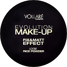 Düfte, Parfümerie und Kosmetik Loser und fixierender Reispuder - Vollare Cosmetics Evolution Make-up Rise Powder
