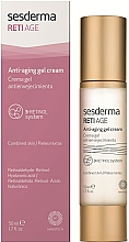 Düfte, Parfümerie und Kosmetik Anti-Aging Creme-Gel für das Gesicht - SesDerma Laboratories RetiAge Anti-aging Gel Cream