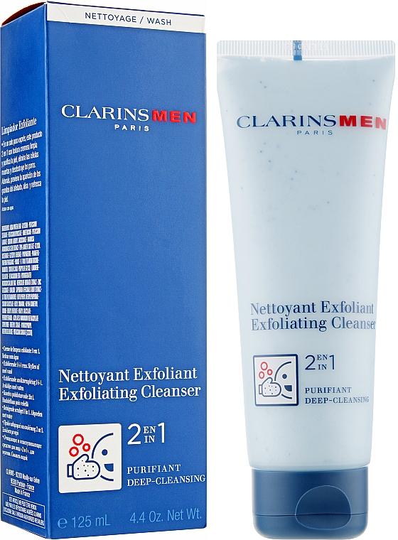 Klärendes Gesichtspeeling - Clarins Men Exfoliating Cleanser — Bild N2