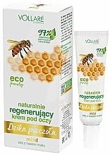 Düfte, Parfümerie und Kosmetik Regenerierende Augencreme mit Honig-Extrakt - Vollare