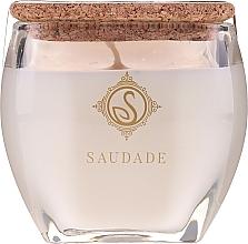 Düfte, Parfümerie und Kosmetik Duftkerze im Glas Vanille und Bernstein - Essencias De Portugal Senses Saudade Vanilla Amber Candle