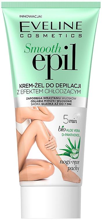 Glättendes Enthaarungsgel mit kühlendem Effekt - Eveline Cosmetics Smooth Epil