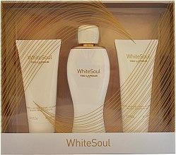 Düfte, Parfümerie und Kosmetik Ted Lapidus White Soul - Duftset (Eau de Parfum 100ml + Körpercreme 100ml + Duschgel 100ml)