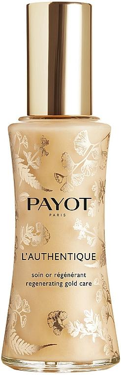 Intensiv regenerierende Pflege für das Gesicht mit reinen Goldpartikeln - Payot L'Authentique Regenerating Gold Care