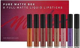 Düfte, Parfümerie und Kosmetik Make-up Set (Matter Lipenstift 8x6ml) - Zoeva Pure Matte Box