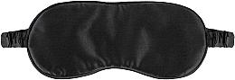 Düfte, Parfümerie und Kosmetik Schlafmaske aus Naturseide schwarz Sleepy - Makeup Sleep Mask Black