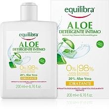 Düfte, Parfümerie und Kosmetik Feuchtigkeitsspendendes Gel für die Intimhygiene mit Aloe Vera - Equilibra Aloe Moisturizing Cleanser For Personal Hygiene