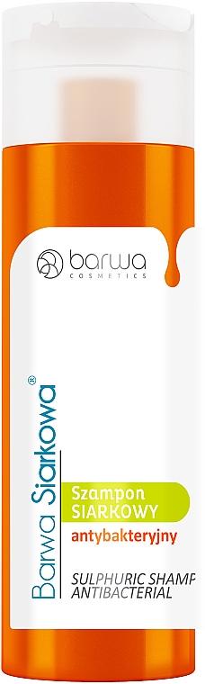Antibakterielles Shampoo mit Schwefel - Barwa Special Sulphur Antibacterial Shampoo — Bild N3