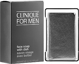 Düfte, Parfümerie und Kosmetik Gesichtsseife mit Schale - Clinique For Men Face Soap With Dish