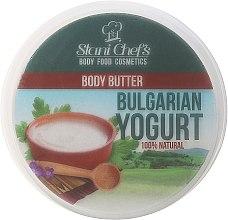 Düfte, Parfümerie und Kosmetik Tief feuchtigkeitsspendende und regenerierende Körperbutter mit Yoghurtextrakt - Stani Chef's Bulgarian Yogurt Body Butter