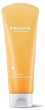 Erfrischender Gesichtsreinigungsschaum mit Satsuma-Extrakt und Vitamin C - Frudia Brightening Citrus Micro Cleansing Foam