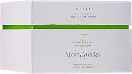 Düfte, Parfümerie und Kosmetik Duftkerze im Glas mit 3 Dochten Inspiration - AromaWorks Harmony Candle 3-wick