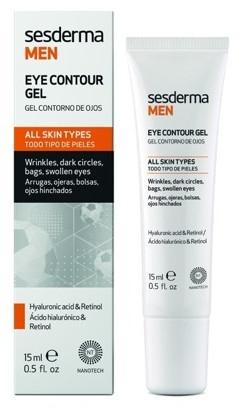 Augenkonturgel für Männer - SesDerma Laboratories Men Eye Contour Gel — Bild N1
