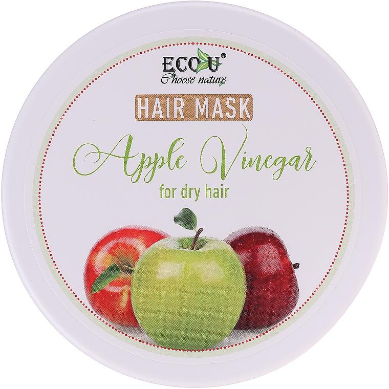 Haarmakse mit Apfelessig für trockenes Haar - ECO U Apple Vinegar Hair Mask For Dry Hair
