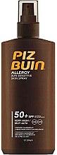 Düfte, Parfümerie und Kosmetik Sonnenschutzspray für empfindliche Haut SPF 50+ - Piz Buin Allergy Spray SPF50