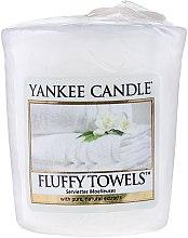 "Düfte, Parfümerie und Kosmetik Duftkerze ""Fluffy Towels"" - Yankee Candle Scented Votive Fluffy Towels"