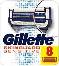 Düfte, Parfümerie und Kosmetik Ersatzklingen 8 St. - Gillette SkinGuard Sensitive