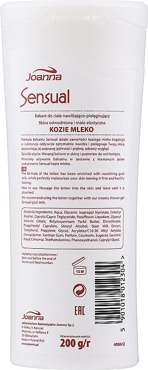 Körperlotion mit Ziegenmilch - Joanna Body Lotion Goat Milk — Bild N2