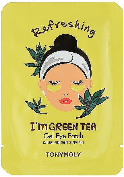 Erfrischende Gel-Patches für die Augenpartie mit grünem Tee - Tony Moly Refreshing Im Green Tea Eye Mask
