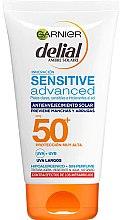 Düfte, Parfümerie und Kosmetik Anti-Aging Sonnenschutzcreme für empfindliche Haut SPF 50 - Garnier Delial Ambre Solaire Sensitive Advanced Anti-Aging Sunscreen SPF50