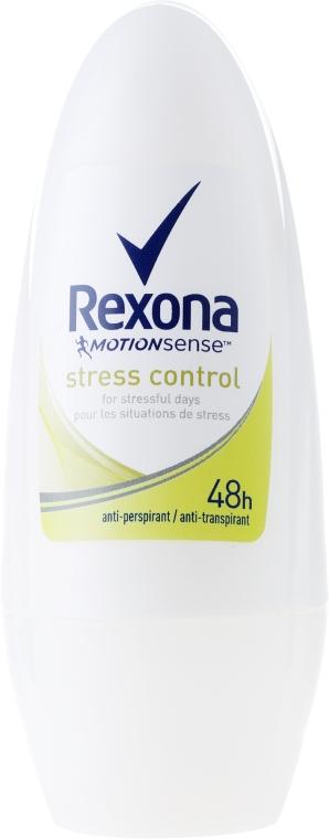 Deo Roll-on Antitranspirant - Rexona Antiperspirant Motionsense Stress Control Roll-on