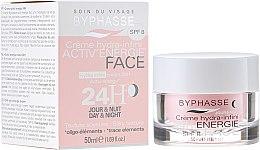 Düfte, Parfümerie und Kosmetik Feuchtigkeitsspendende Gesichtscreme mit Q10 SPF 8 - Byphasse Hydra Infini Cream 24H Active Energy Day and Night SPF 8