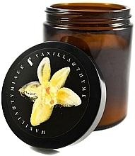 Düfte, Parfümerie und Kosmetik Duftkerze im Glas Vanille und Thymian - Flagolie Fragranced Candle Vanilla And Thyme