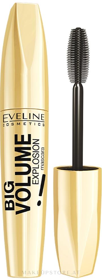 Mascara für voluminöse Wimpern - Eveline Cosmetics Big Volume Explosion — Bild 01 - Black