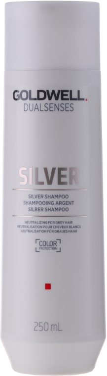 Neutralisierendes Silber-Shampoo für graues Haar - Goldwell Dualsenses Silver