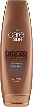Düfte, Parfümerie und Kosmetik Feuchtigkeitsspendender Selbstbräuner für Gesicht und Körper - Avon Care Sun Moisturising Self-Tan Face & Body Lotion