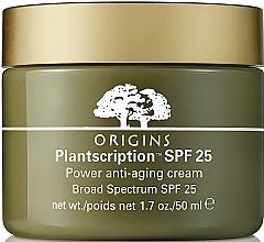 Düfte, Parfümerie und Kosmetik Anti-Aging Gesichtscreme SPF 25 - Origins Plantscription SPF25 Power Anti-Aging Cream