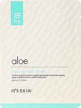 Düfte, Parfümerie und Kosmetik Beruhigende Tuchmaske mit Aloe Vera-Extrakt - It's Skin Aloe Relaxing Mask Sheet