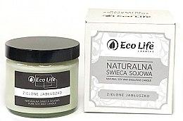 """Düfte, Parfümerie und Kosmetik Natürliche Soja-Duftkerze im Glas """"Grüner Apfel"""" - Eco Life Candles"""