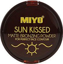 Düfte, Parfümerie und Kosmetik Bronzierpuder - Miyo Sun Kissed Matt Bronzing Powder