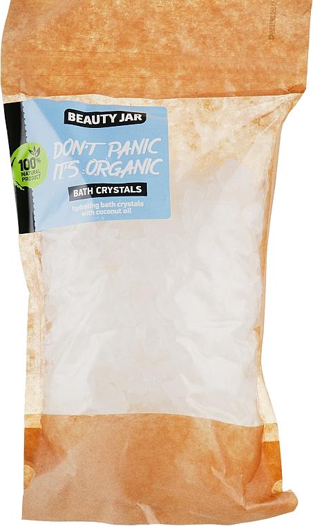 Feuchtigkeitsspendende Badekristalle mit Kokosnussöl - Beauty Jar Bath Crystals