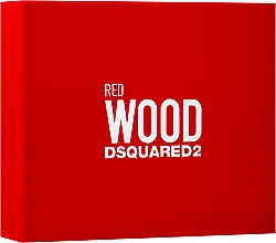 Düfte, Parfümerie und Kosmetik Dsquared2 Red Wood - Duftset (Eau de Toilette 50ml + Duschgel 50ml + Körperlotion 50ml)