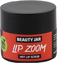 Düfte, Parfümerie und Kosmetik Zuckerpeeling für die Lippen mit schwarzem Pfeffer, Zimt und Kokosbutter - Beauty Jar Lip Zoom Hot Lip Scrub