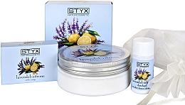 Düfte, Parfümerie und Kosmetik Körperpflegeset mit Lavendel und Zitrone - Styx Naturcosmetic (Körpercreme 200ml + Seife 100g + Duschgel 30ml)