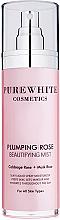 Düfte, Parfümerie und Kosmetik Intensiv feuchtigkeitsspendender erfrischender und vitalisierender Gesichtsnebel mit Rosenextrakten - Pure White Cosmetics Plumping Rose Beautifying Mist