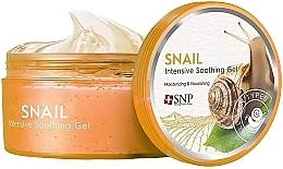 Düfte, Parfümerie und Kosmetik Beruhigendes und feuchtigkeitsspendendes Gesichtsgel mit Schneckenschleim - SNP Intensive Snail Soothing Gel