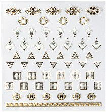 Düfte, Parfümerie und Kosmetik Dekorative Nagelsticker - Peggy Sage DecorativeNail Stickers Jewels