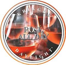Düfte, Parfümerie und Kosmetik Duftkerze Daylight Rose All Day - Kringle Candle Rose All Day
