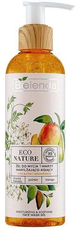 Feuchtigkeitsspendendes Gesichtsreinigungsgel mit Pflaume, Jasmin und Mango - Bielenda Eco Nature Kakadu Plum, Jasmine and Mango