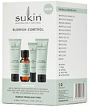 Düfte, Parfümerie und Kosmetik Gesichtspflegeset - Sukin Blemish Control Kit (Gesichtsgel 50ml + Gesichtstonikum 50ml + Gesichtsgel 15ml + Gesictsöl 50ml)