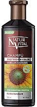 Düfte, Parfümerie und Kosmetik Shampoo für Kastanienhaar - Natur Vital Coloursafe Henna Colour Shampoo Chestnut Hair