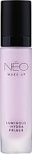 Düfte, Parfümerie und Kosmetik Feuchtigkeitsspendender Gesichtsprimer mit Vitamin E und Hydromanil - NEO Make Up Luminous Hydra Primer