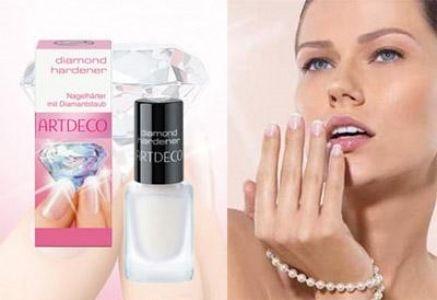 Nagelhärter mit Diamantstaub - Artdeco Diamond Hardener — Bild N2
